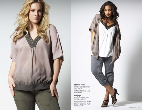pretty clothes for plus size