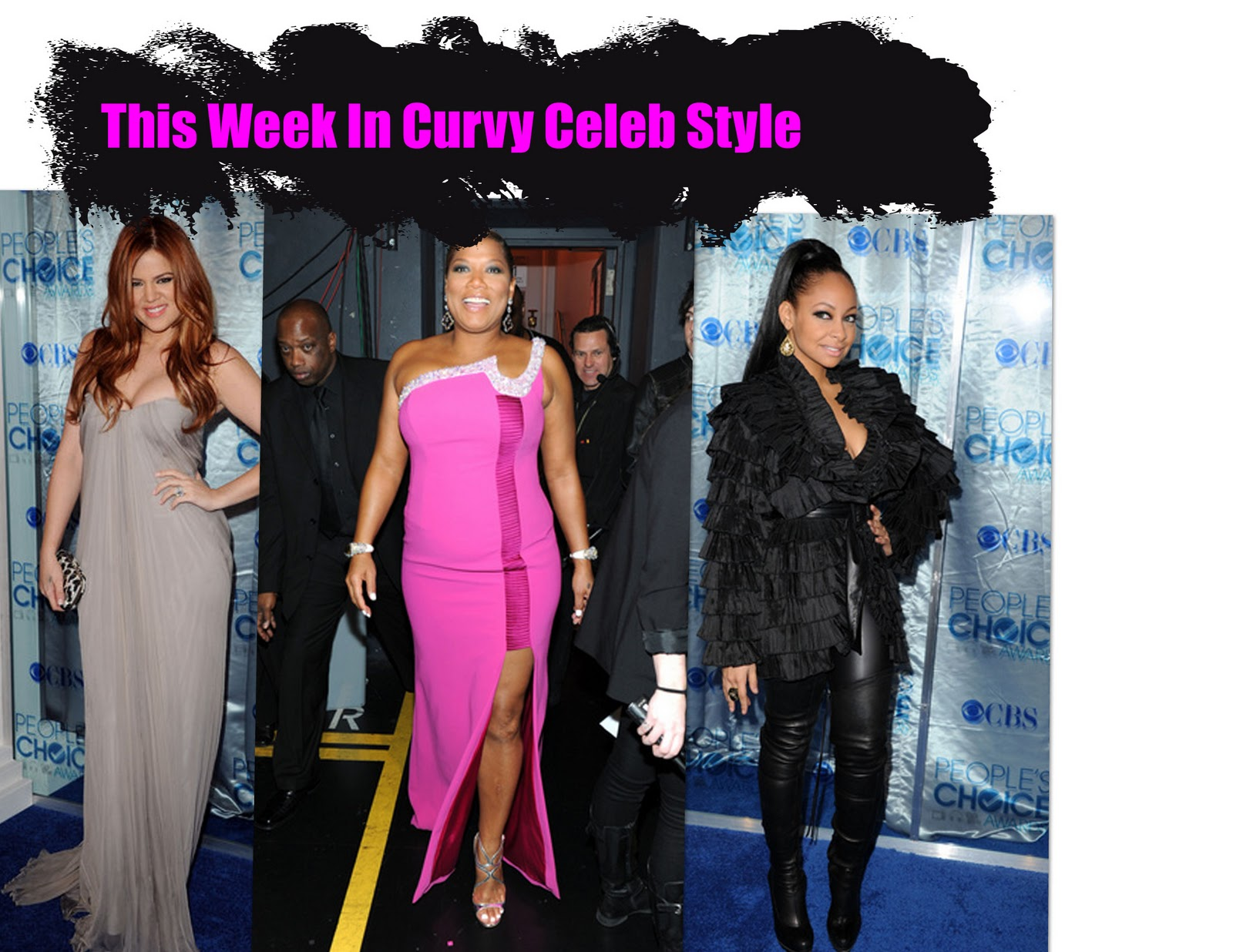 Latest Curvy Celebrity Outfits