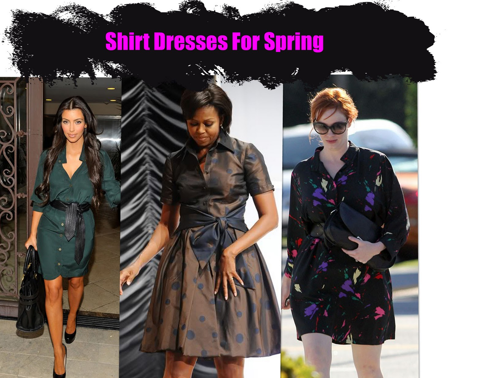 Shirt Dresses Are One of The